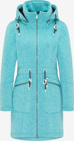 ICEBOUND Manteau mi-saison en turquoise, Vue avec produit