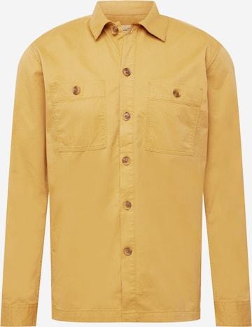 TOM TAILOR DENIM Hemd in Gelb
