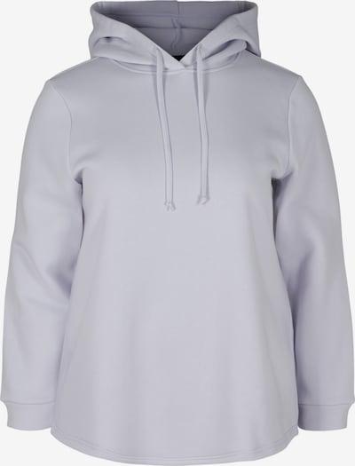 Zizzi Sweatshirt 'Msille' in flieder, Produktansicht