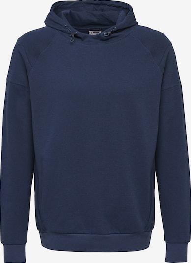 Hummel Sportsweatshirt in de kleur Donkerblauw, Productweergave