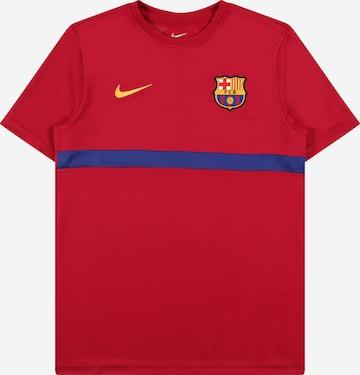 NIKE Funktsionaalne särk 'FC Barcelona Academy Pro', värv punane