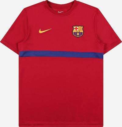 NIKE Functioneel shirt 'FC Barcelona Academy Pro' in de kleur Blauw / Geel / Rood, Productweergave