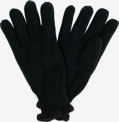 SAMAYA Fleecehandschuhe mit Fleecefutter in schwarz, Produktansicht