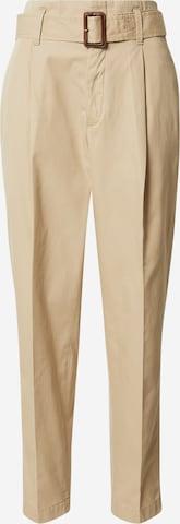 Polo Ralph Lauren Voltidega püksid, värv beež