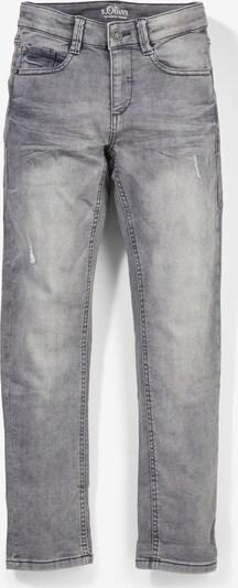s.Oliver Sweatjeans mit Slim leg in grau, Produktansicht