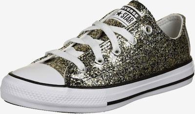CONVERSE Sneaker in gold / schwarz / silber / weiß, Produktansicht