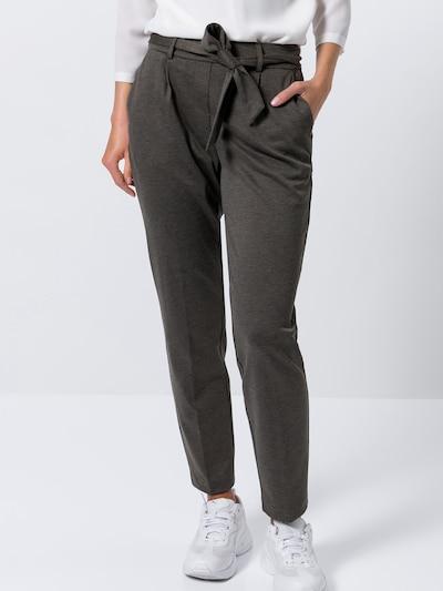 zero Hose in braun, Modelansicht