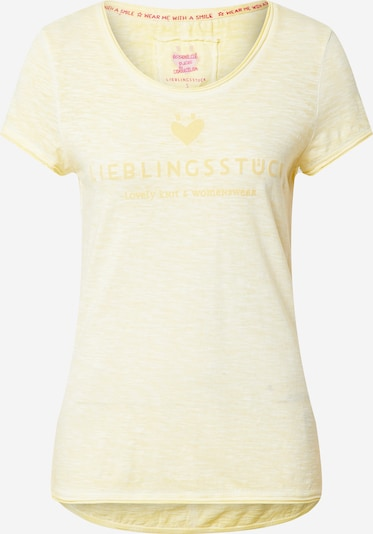 LIEBLINGSSTÜCK Shirt 'Cia' in yellow mottled, Item view