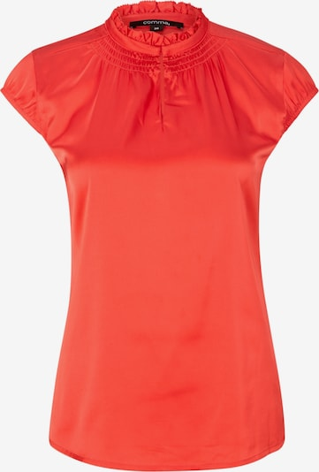 COMMA Satinbluse in rot, Produktansicht