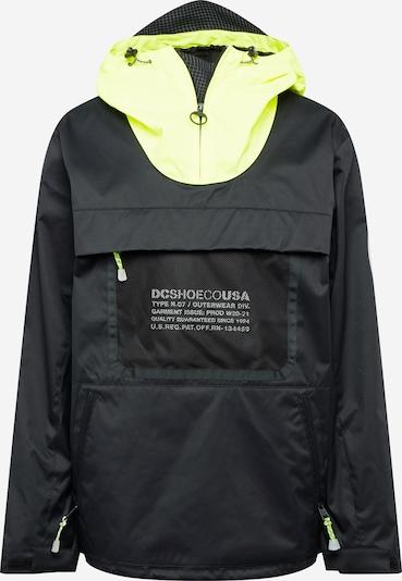 DC Shoes Outdoorová bunda 'Asap' - svítivě žlutá / černá / bílá, Produkt