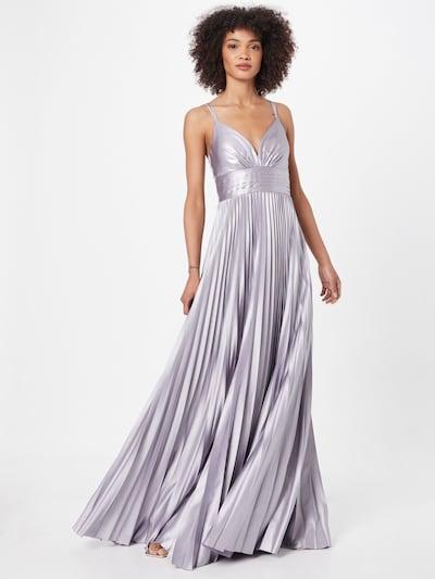 Vera Mont Abendkleid in silbergrau / lavendel, Modelansicht