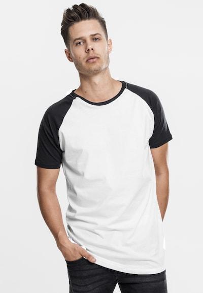 Urban Classics Shirt in de kleur Wit: Vooraanzicht