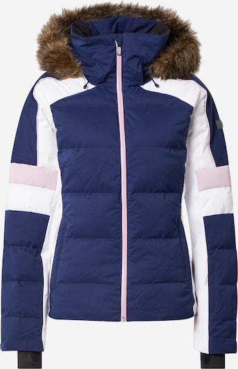 ROXY Outdoorová bunda - námořnická modř / hnědá / světle růžová / bílá, Produkt