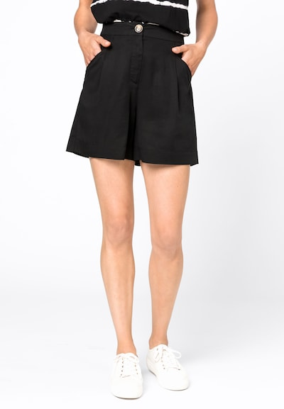 HALLHUBER Shorts in schwarz, Modelansicht