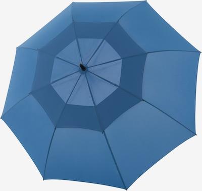 Doppler Regenschirm 'Fiber Golf' in hellbeige / himmelblau, Produktansicht