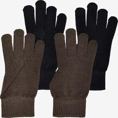 ONLY Handschuhe 'Magik' in braun / schwarz, Produktansicht