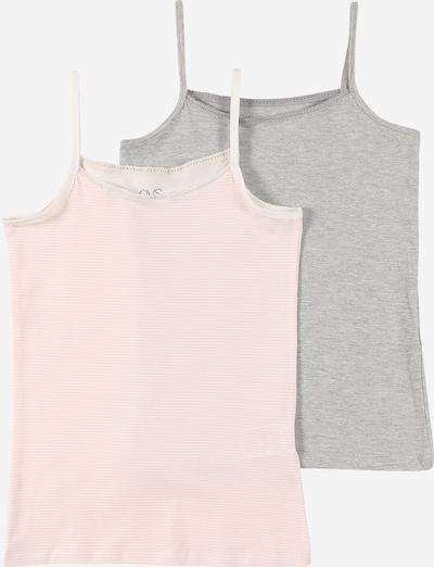 OVS Unterhemd in graumeliert / rosa, Produktansicht