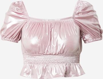 Miss Selfridge Petite Shirt in Pink