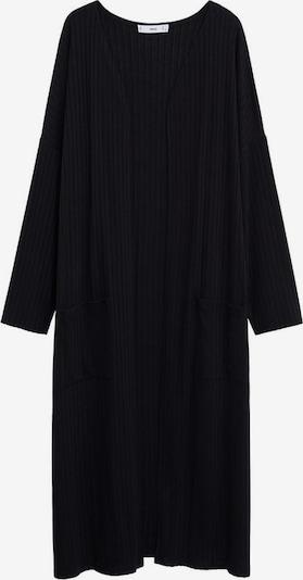 MANGO Strickmantel 'Azalee' in schwarz, Produktansicht