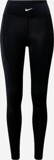 NIKE Sportbroek 'Pro Luxe' in de kleur Zwart, Productweergave