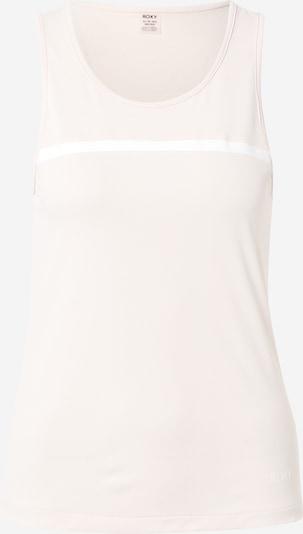ROXY Haut de sport 'LOST IN LOVE' en rose pastel / blanc, Vue avec produit