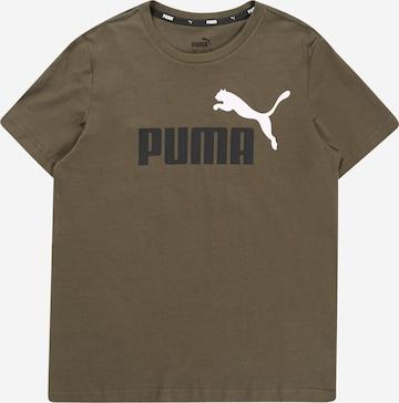PUMA T-Shirt in Grün