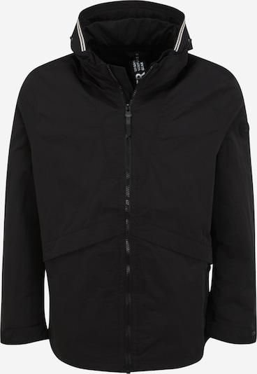 s.Oliver Red Label Big&Tall Jacke in schwarz / weiß, Produktansicht