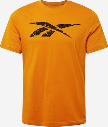 Reebok Sport Funksjonsskjorte i oransje