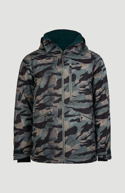 Laisvalaikio striukė 'Diabase' iš O'NEILL , spalva - ruda / tamsiai žalia / juoda, Prekių apžvalga