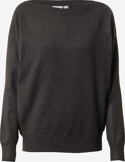 ICHI Trui 'ALPA' in de kleur Zwart gemêleerd, Productweergave