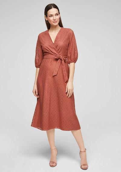 s.Oliver BLACK LABEL Kleid in hummer, Modelansicht