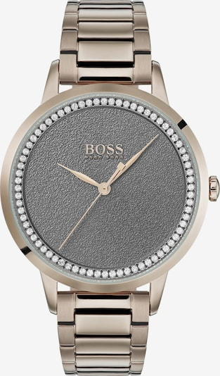 BOSS Casual Analog watch in Rose gold / Dark grey, Item view