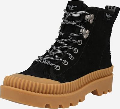 Pepe Jeans Bottines à lacets 'ASCOT DESERT' en noir, Vue avec produit