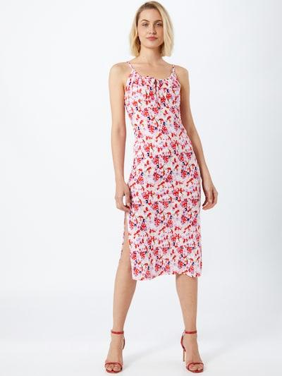 Miss Selfridge Kleid 'FELICITY' in mischfarben / rosa / rot, Modelansicht