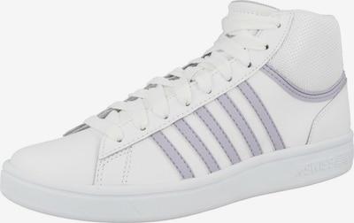 K-SWISS Sneaker 'Court Winston Mid' in grau / weiß, Produktansicht