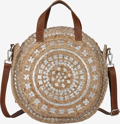 Crickit Strandtasche 'PALMA' in beige / braun, Produktansicht