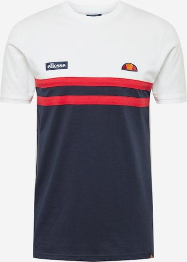 ELLESSE T-shirt 'Venire' i marinblå / röd / vit, Produktvy