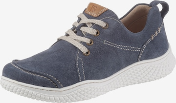 JOSEF SEIBEL Athletic Lace-Up Shoes 'Amelie 02' in Blue