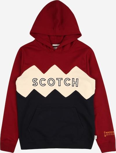 Scotch Shrunk Bluza w kolorze niebieski / bordowy / białym, Podgląd produktu