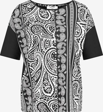 GERRY WEBER Shirt in Schwarz