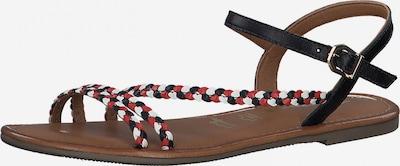TAMARIS Páskové sandály - námořnická modř / červená / bílá, Produkt