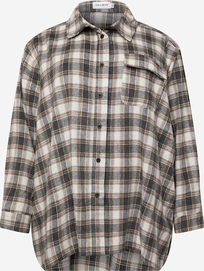 Public Desire Curve Blusa en beige / marrón / negro, Vista del producto