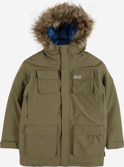 JACK WOLFSKIN Outdoor jacket 'ICE EXPLORER' in olive, Item view