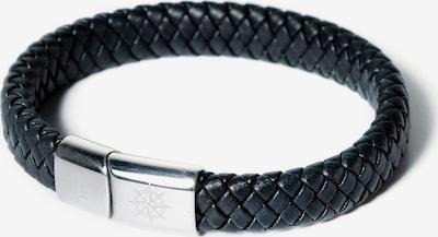 JP1880 Armband in de kleur Zwart / Zilver, Productweergave