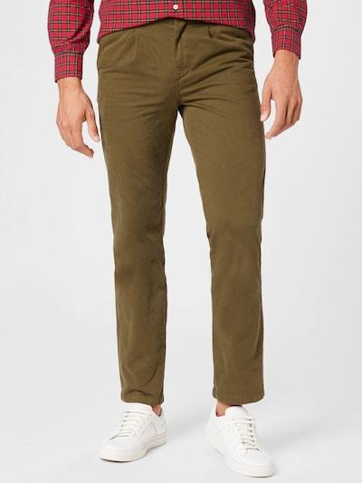 forét Plisované nohavice 'BROOK' - olivová, Model/-ka