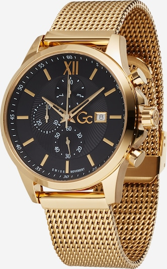 Gc Analog watch 'Executive' in gold / black, Item view