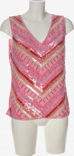 Prestige ärmellose Bluse in XL in hellorange / pink / wollweiß, Produktansicht