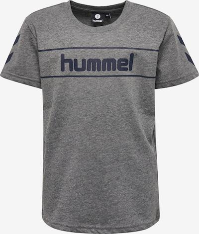 Hummel T-shirt in graumeliert, Produktansicht