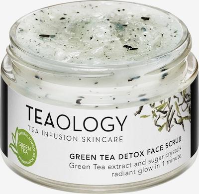 Teaology Peeling 'Green Tea Detox' in weiß, Produktansicht