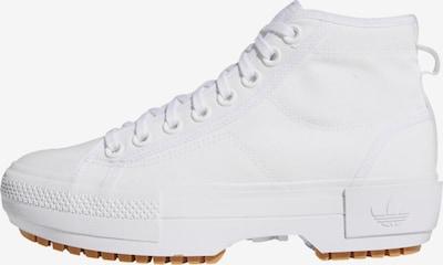 Sneaker înalt 'Nizza Trek' ADIDAS ORIGINALS pe alb, Vizualizare produs